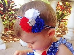 4th of july headbands headbands flower headbands for babies toddlers squishy cheeks