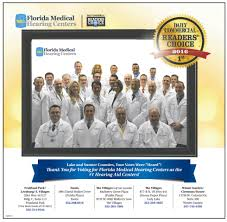 thank you for voting us 1 florida medical hearing centers