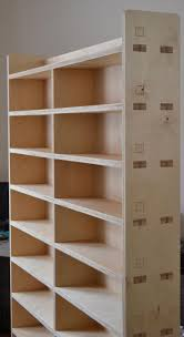 Simple Wood Shelves Plans by Best 25 Plywood Bookcase Ideas On Pinterest Plywood Shelves