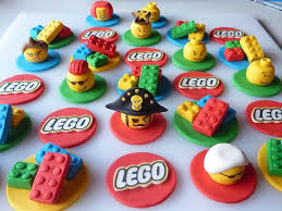 edible legos 12 edible lego cupcake toppers with 3d mini heads by