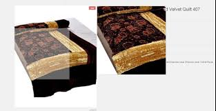 Bed Quilts Online India Rani Jaipuri Razai Quilt Online India Youtube