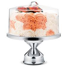 cake stand with cover chefgiant cake stand with cover 13 stainless
