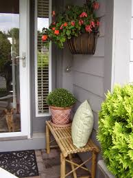 simple small front porch decorating ideas for summer home design