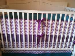 dark purple crib dust ruffle all about crib