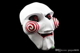 Saw Mask Film Saw Mask Size Saw Chainsaw Killer Theme Horrible White