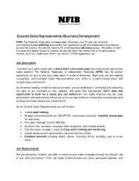 Retail Job Description For Resume by Sales Rep Job Description Outside Sales Representative Job
