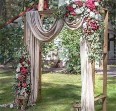 wedding arches decorated with flowers 20 diy floral wedding arch decoration ideas