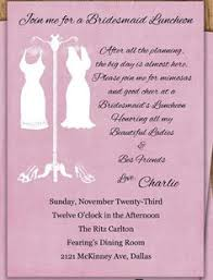 bridesmaids invite bridesmaids bridal luncheon invite grey