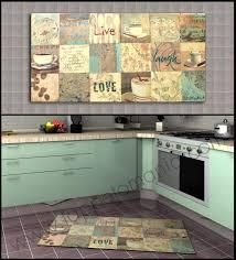 tappeti lunghi per cucina gallery of tappeti cucina antiscivolo in cotone lavabili in