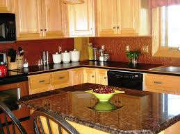 Granite Countertops With Cherry Cabinets Backsplash Ideas For Granite Countertops Cherry Cabinets