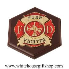 House Gift United States Firefighter Set Features Firefighter Keepsake Case