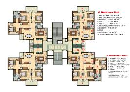 cluster home floor plans 2 and 3 bhk apartment cluster tower layout plan n design cluster