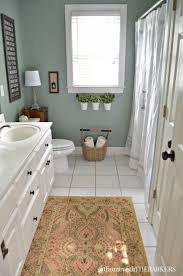 best 25 green small bathrooms ideas on pinterest green bath holiday ready bathroom refresh with behr marquee paint from at home with the barkers