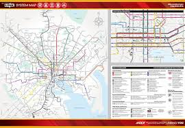 me a map of maryland transit maps maryland transit administration
