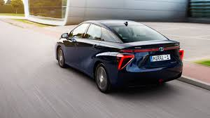 toyota cars price list toyota mirai 2015 hydrogen fuel cell vehicle review by car magazine