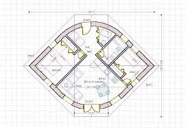 straw bale house plan 670 sq ft eye shape build it yourself