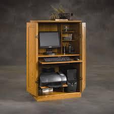 Oak Computer Armoire by Corner Armoire Computer Desk Images Yvotube Com