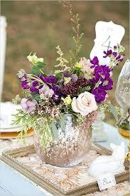 Purple Flowers Centerpieces by 156 Best Purple Wedding Flowers Images On Pinterest Centerpiece