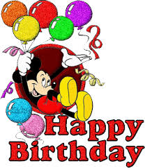 mickey mouse birthday happy birthday disney gif find on giphy