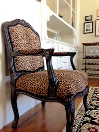 Leopard Print Accent Chair Pattern Play The Leopard Accent Pretty Little Spaces