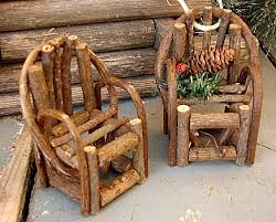 Miniature Adirondack Chair Moose R Us Com Miniature Adirondack Twig Chair