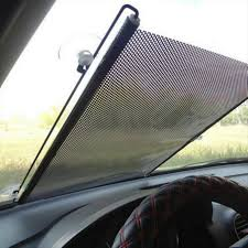 auto accessories retractable side window car sun shade curtain