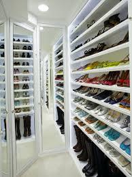 shoe closet storage modern attractive design kids organizing