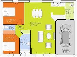 prix maison plain pied 4 chambres formidable of plan de maison plain pied 4 chambres chambre