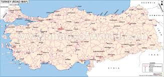 Greece Turkey Map by Road Map