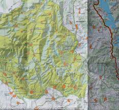 France Spain Map by Map Of Central Pyrenees Aragon Bearn Bigorre Zoom Spain