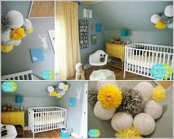 chambre jaune et bleu deco chambre bebe jaune et gris 2 idées décoration intérieure