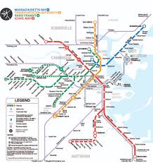 Boston Mbta Map 100 Boston College Map Map The Top College Destinations In