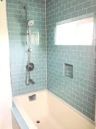 bathroom subway tile ideas green subway tile bathroom ideas tile designs
