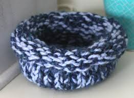 knit home decor blue knitted bowl knitted home decor knit bowl knitted