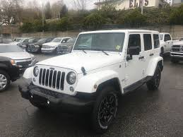jeep new white new 2018 jeep wrangler jk unlimited 4 door sport utility 181486