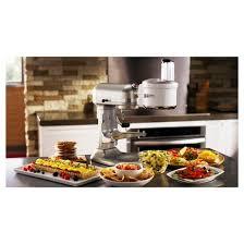 kitchen aid food processor kitchenaid food processor attachment ksm1fpa target