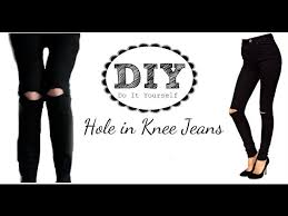 Black Skinny Jeans With Holes Black Skinny Jeans With Hole In Knee U2013 Global Trend Jeans Models