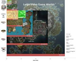 The Witcher 3 World Map by Breath Of The Wild U0027s Known Overworld Map Size Estimated At 360 Sq