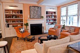 Orange And Black Rugs 16 Chic Interiors How To Decorate With Orange Rugs And Coral Rugs