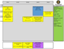What Do Colours Mean Misti Con 2017 Programming Schedule