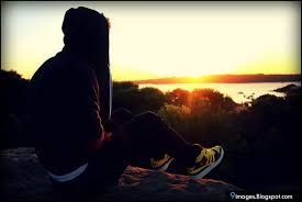 sunset alone wallpapers sad alone sunset cute boy lonely lake 604x404 36557 sad alone