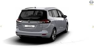 2017 opel zafira facelift leaked on gm website here are the first