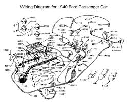 wiring diagram for 1940 ford wiring pinterest ford