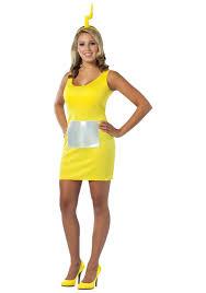 crayons halloween costume teletubbies laa laa tank dress womens teletubby costumes