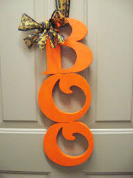 Diy Halloween Ornaments Diy Halloween Door Decor Make Something Mondays