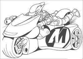 free motorcycle coloring page letscoloringpages com ninja speed