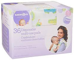 baby us babies r us safari disposable multi use pads 36 pack babies r us