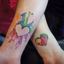 best 25 watercolor heart tattoos ideas on pinterest watercolor