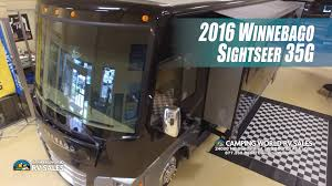 2016 sightseer 35g 40 foot class a motorhome by winnebago andy