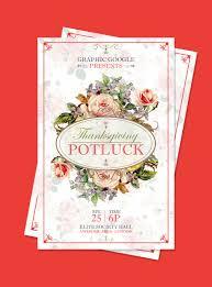 potluck invitation invitation thanksgiving potluck invitation template